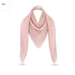 Louis Vuitton shine monogram shawl M70805